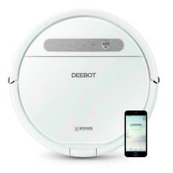 Ecovacs Deebot Ozmo 610 White Smart Robotic Vacuum For Carpet And Bare Floors