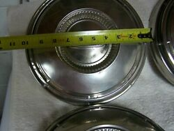 1967-72 Ford Truck-p Galaxy Or Fairlane Hubcaps And Rings