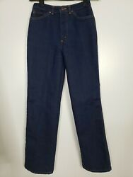 Vintage Chic By H.i.s. Blue Jeans 80's High Rise Mom Jeans Size 8 Waist 26 Euc