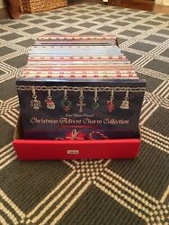 700 Value - 21 Fine Silver Plated Christmas Advent Charm Collection Calendars