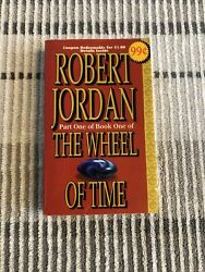 Robert Jordan Signed Red Promo. Rare 1996 Edition. Chapters 1-18 Eye Of World
