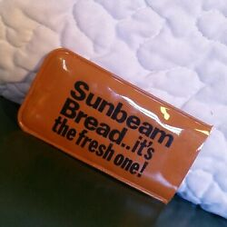 Vintage Sunbeam Bread Fresh One Advertising Sewing Kit Plastic Pouch Travel Set