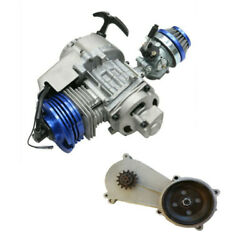 47cc 49cc Engine Motor 2 Stroke Gearbox For Pocket Bike Gas Scooter Mini Pit Atv