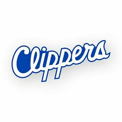 Los Angeles Clippers Hand Lettering Decal Die Cut Vinyl Sticker Wall Window Car
