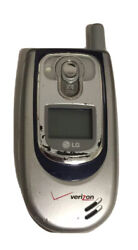Lg Model Ux6100, Verizon Flip Phone Cell With Car Charger, Needs New Battery