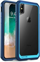 SUPCASE Unicorn for Apple iPhone XS iPhone X 5.8quot; Clear Blue Case Back Cover $12.74