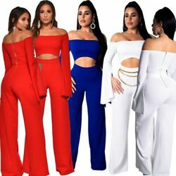 Clubwear Ladies Overall Cocktail Casual Womens Romper Party Jumpsuits Playsuit