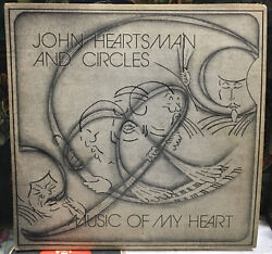 John Heartsman And Circles Music Of My Heart Autographed Record Vc-4508