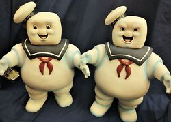 Happy + Angry 24andrdquo Stay Puft Marshmallow Man Coin Banks Ghostbusters W Tags