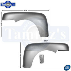 For 1948-1950 Ford F1 F2 Pickup Truck Steel Front Fender - Pair Dynacorn New