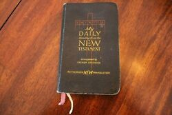 My Daily Reading From The New Testamentfather Joseph Stedman1941gospels