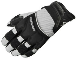 Scorpion Cool Hand Ii Menand039s Gloves Silver 3xl