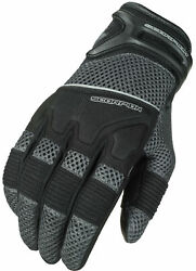 Scorpion Cool Hand Ii Menand039s Gloves Grey Sm