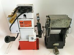 Thomas And Betts Tandb 21940 Hydraulic Crimper 40 Tons With Electric Hydraulic Pump