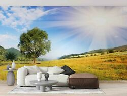 3d Tree Grassland Self-adhesive Removeable Wallpaper Wall Mural Sticker 116