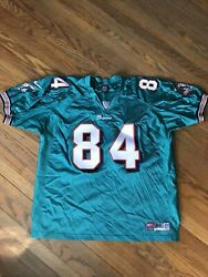 Miami Dolphins Chris Chambers Authentic Nike Stitched Nfl Jersey Rare 84 Xxl