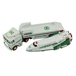 Hess Toy Truck And Spaceshuttle Satellite Real Head And Tail Lights Collectable