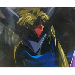 Distressed Space Knight Tekkaman Blade Ii Tekka Manded A1 Stop Cell Painting