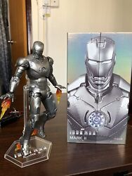 In Stock ZD TOYS Iron Man MK 2 Mark II 7'' Action Figure Marvel Avengers MCU
