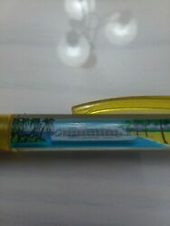 Vintage Yellow Adventure Of The Seas Floating Cruise Ship Floaty Ink Pen
