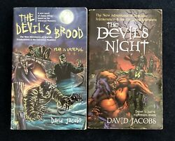 Universal Monster Book Set The Devil's Brood And The Devil's Night By David Jacobs