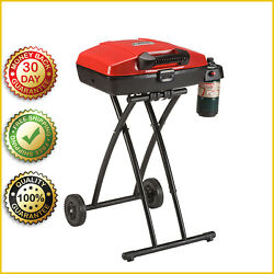 Portable Propane Grill Coleman Barbeque Bbq Outdoor Cooking Tailgating Camping