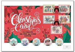 First Day Coin Cover The Christmas Carol Silver 50p Coin Ltd Edt 50 Worldwide