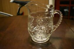 Vintage Anchor Hocking Eapc Star Of David Crystal Clear Glassware Your Choice