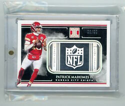 2019 Panini Impeccable Football Troy Ounce Fine Silver Nfls-pm Patrick Mahomes