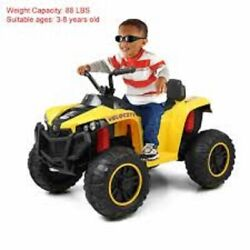 Kids Child Ride On Car 4 Wheels Electric Car Outdoor Toy W/light Horn