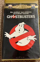 Ghostbusters Vhs 1996 Gold Clamshell Case 1996 Columbia Pictures Collection