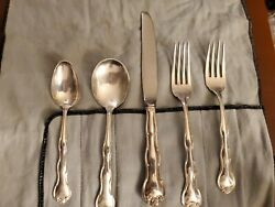 Rondo By Gorham Sterling Silver 5 Piece Place Setting Dinner No Monogram