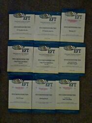Lot Of 9 Emotional Freedom Technique Eft Five Star Dvd Instruction Nip