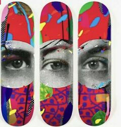 Paul Insect I See Skateboard Deck Limited Edition Signed With Coa Confirmed