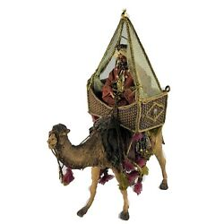 Department Dept 56 Neapolitan King On Camel With Tent Nativity Figurine Rare