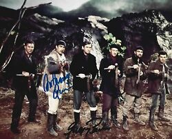 Movie Legends Gregory Peck Anthony Quinn Signed 8x10 Guns Of Navarone Tough Guys