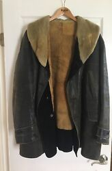 1920and039s Vintage Hercules Horsehide Leather Jacket Real Deal
