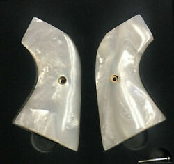 Fits Ruger Wrangler Grips .22 Model White Pearl Imop New Andlsquo21