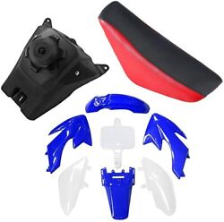 Plastic Fairing Kit Body Fender And Seat And Gas Fuel Tank For Xr50 Crf50 Dirt Bike