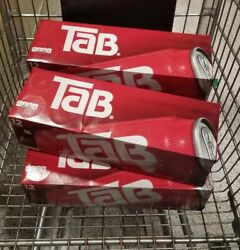 Tab Soda4 12-packs Of Tab Cola Diet Soda Pop 12oz Cans New [48 Cans] Exp 8/21