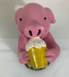 Rince Couchon Tap Handle Pig Tap Handle And Pig Stemmed Tulip Glass. Belgium