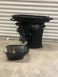 Mercury Outboard 40 Complete Mid Section Freshwater Used Tilt Trim Exhaust Elpto