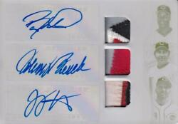 Mlb Card 2018 Barry Larkin Johnny Bench Joey Votto Topps Auto Patch Reds 1/1