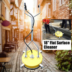 18 Flat Surface Andconcrete Cleaner Pressure Washer Cold/hot Water 4000psi 275bar