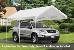 9x16 Shelterlogic Tractor Supply Replacement Canopy Top Cover 800993 25847 25809
