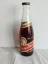 Rare Vintage Virginia Dare 1967 Filled Rootbeer Glass Bottle Brooklyn Ny