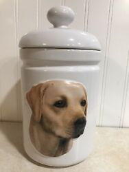 Xpres Best Friends Originals Yellow Lab Dog Treat Container 281