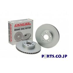 Dixcel Rear Brake Disc Rotor Pd Type For Ncp13 Vitz 1.5rs