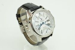 Authentic Longines Watch Automatic Heritage Retrograde L698.2 Leather L4.797.4 S