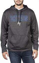 Top Of The World Men's Dark Heathered Foundation Poly Hoodie